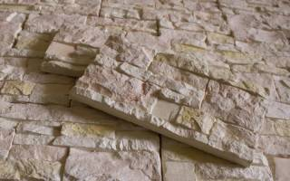 Гипсовая плитка под камень для внутренней отделки своими руками