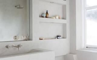 Тумба под раковину в ванную своими руками из гипсокартона