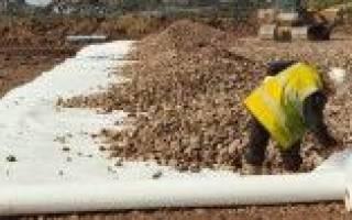 Можно заменить геотекстиль на пароизоляция строительстве дорог