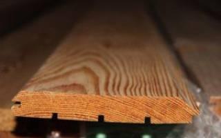 Технические характеристики и размеры имитации бруса из лиственницы