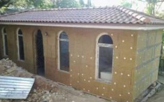 Как клеить минеральную вату на фасад?