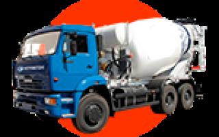 Сколько стоит куб бетона для фундамента в миксере с доставкой