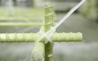 Вязка арматуры под ленточный фундамент стеклопластиковой