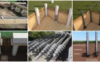 Можно ли на свайном фундаменте строить дом из газобетона?