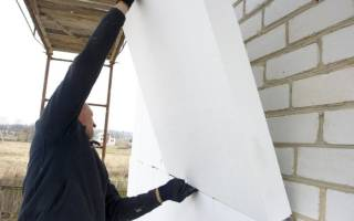Как правильно утеплить фасад дома пенополистиролом?