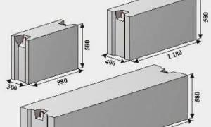 Типовая технологическая карта на монтаж фундамента и стеновых блоков