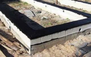 Какой глубины должен быть фундамент под гараж из шлакоблока?