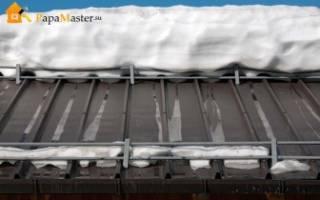 Системы снегозадержания— что это и зачем они нужны