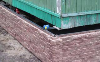 Как заменить старый фундамент под деревянным домом на новый?