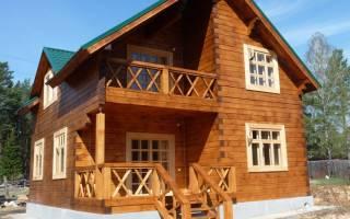 Строим дом из бруса своими руками от фундамента до крыши