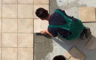 Какой клей лучше для камня на улице?