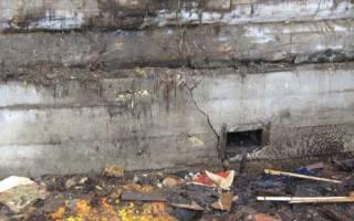 Как укрепить кирпичный фундамент старого деревянного дома своими руками?