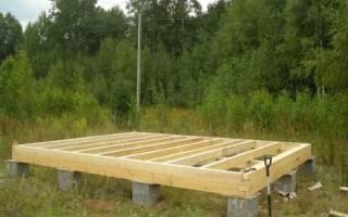 Столбчатый фундамент из бетонных блоков своими руками пошаговая инструкция