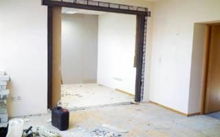 Как увеличить дверной проем в кирпичной стене в высоту?