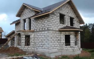 Как сделать фундамент с ростверком под дом из пеноблоков?