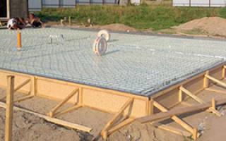 Сколько будет стоить залить фундамент под дом 10 на 10