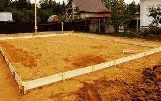 Песок для подушки фундамента речной или карьерный какой лучше