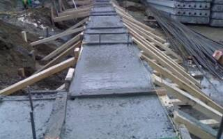 Расход цемента на куб бетона для фундамента забора из профнастила