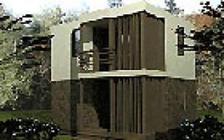 Проекты домов в стиле хай тек из бруса