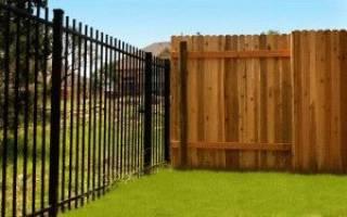 Как построить забор из профлиста своими руками без фундамента?