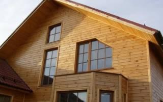 Варианты отделки фасада частного дома металлосайдингом л брус