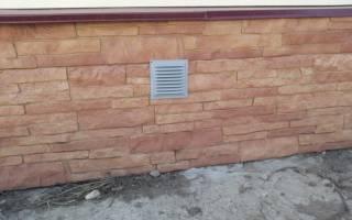 Нужно ли закрывать вентиляционные отверстия в фундаменте на зиму
