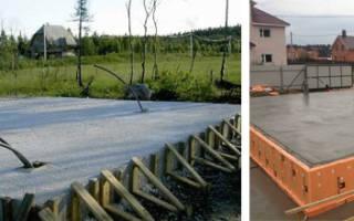 Какой толщины должен быть монолитный фундамент для дома из газобетона?