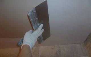 Подготовительные этапы перед шпаклевкой потолка под покраску