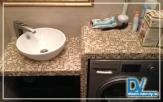 Делаем каркас из профиля для встроенной раковины в ванной комнате
