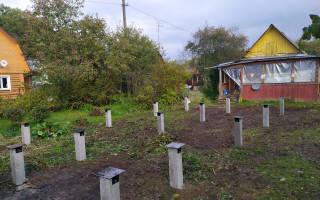 Фундамент для дома из бревна 6 на 8 с мансардой