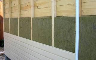 Нужен ли утеплитель под сайдинг для деревянного дома