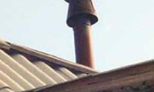 Ветрозащитный колпак на дымоход