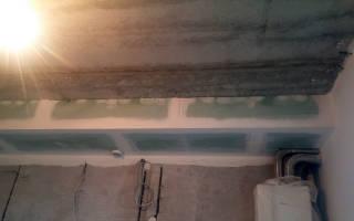 Как сделать короб из профиля для гипсокартона для стен?