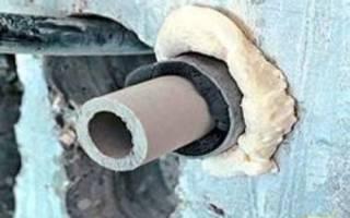 Как провести водопроводную трубу под фундаментом в частном доме?