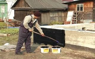 Защита фундаментов и подвальных помещений от подземных вод и сырости