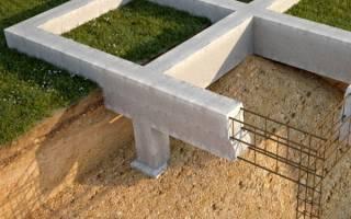 Какой глубины должен быть фундамент для двухэтажного дома из пеноблоков?
