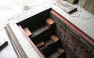 Фундамент для гаража с подвалом и смотровой ямой своими руками