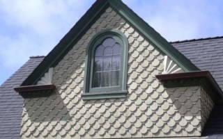 Как зашить фронтон односкатной крыши?