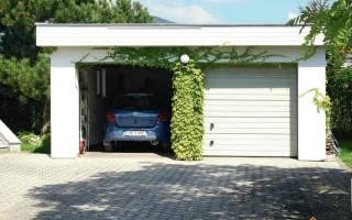 Каркасный гараж своими руками на две машины мастерская расчет фундамента