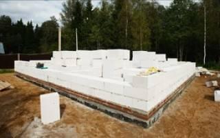 Как правильно рассчитать фундамент под дом кирпично газобетонный дом?