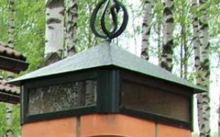 Изготовление низа для колпака из металла на забор своими руками