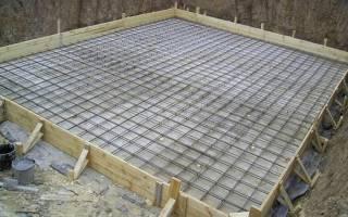 Плита по грунту с опорой на ленточный фундамент и сваи
