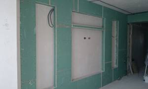 Как делать фальш стену из гипсокартона в оконном проеме?