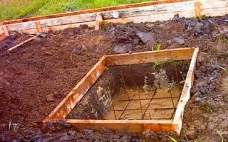 Фундамент под металлическую печь в бане своими руками пошаговое руководство