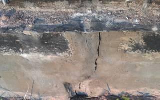 Как укрепить фундамент гаража если пошла трещина на стене?
