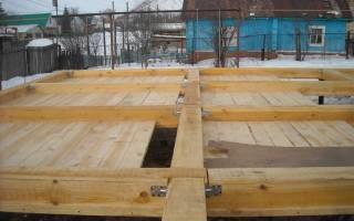 Пароизоляция для пола в деревянном доме на сваях