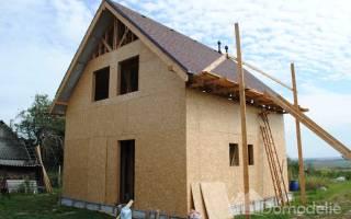 Как правильно обшить каркасный дом снаружи осб?