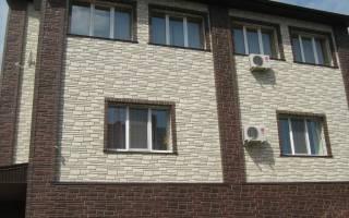Панели для отделки фасада дома под кирпич
