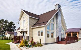 Вентилируемые фасадные панели для наружной отделки дома