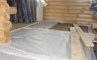 Пароизоляция под линолеум на деревянный пол